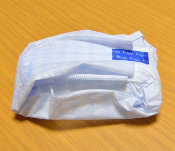 ナプキンの包装のしかた