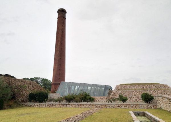 犬島精練所美術館の外観写真